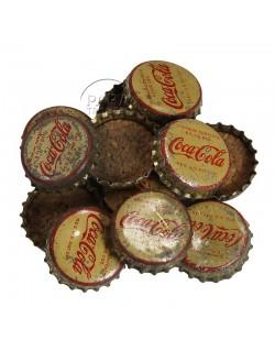 Capsule de bouteille de Coca-Cola