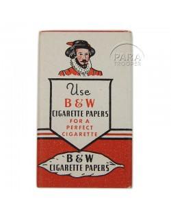 Papier à cigarettes B. & W.