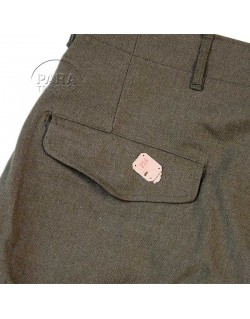 Trousers, Wool, Serge, OD, Special, 40 x31, 1944
