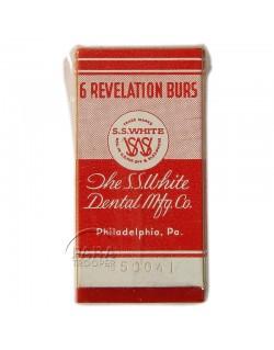 Burs, Dental, The SS White Dental Mfg. Co.