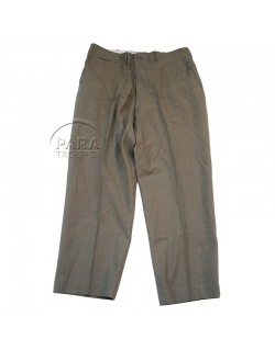 Trousers, Wool, Serge, OD, Special, 40 x 31, 1944, Named