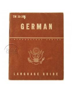 German Language Guide, 1943