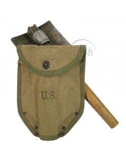 Shovel, Folding, M-1943, 1st type, Shortened