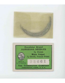 Needles, Surgeons, Excelsior brand