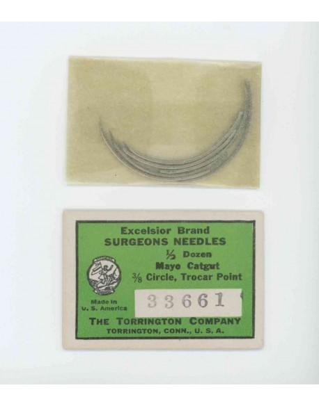 Needles, Surgeons, Excelsior brand