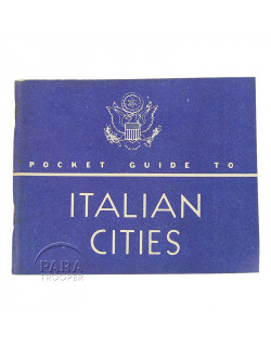 Pocket Guide to Italian Cities, 1944