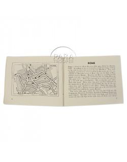 Livret Guide villes Italienne, 1944