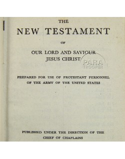 Nouveau Testament, Protestant, 1942