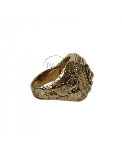 Ring, US Marine Corps, Gold Plated
