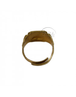 Ring, USMC, Devil Dogs, Gold Plated
