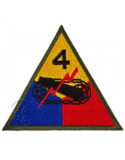 4th Armored Division insignia