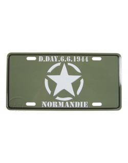 Plaque postale D-Day, étoile