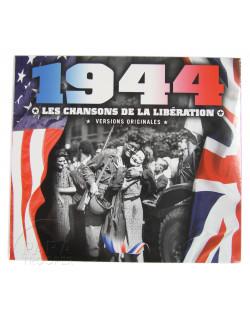 CD 1944, les chansons de la Libération