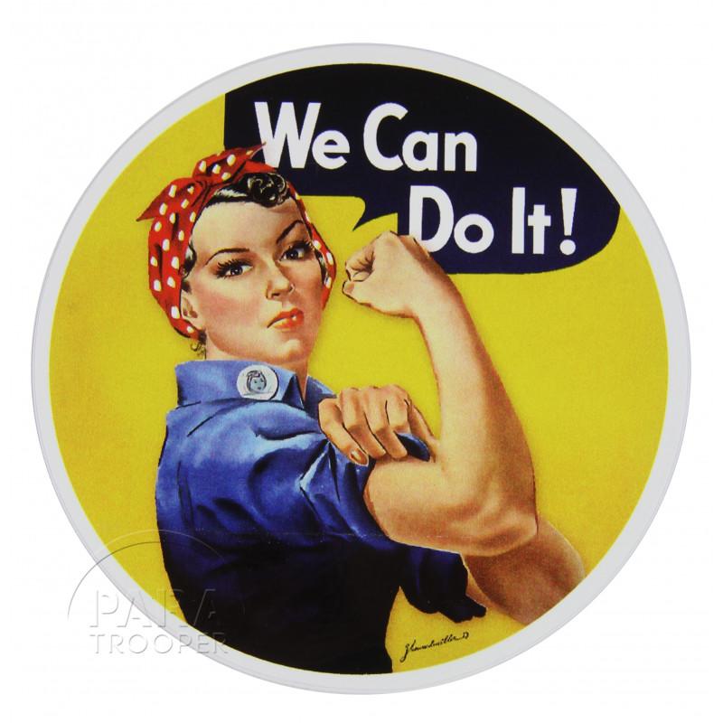 Sticker, Rosie the Riveter