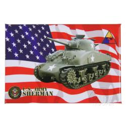 Magnet US Army Sherman
