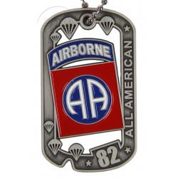 Plaque d'identité, 82nd Airborne