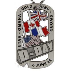 Plaque d'identité, D-Day