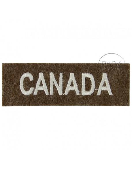 Titre d'épaule Canada