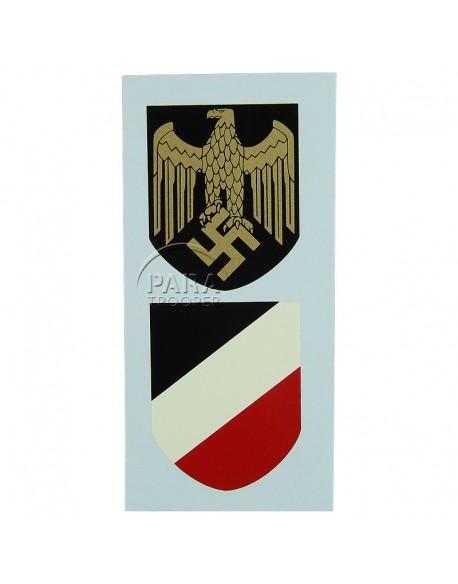 Décalques pour casque Kriegsmarine