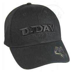 Cap, Black, D-Day 44