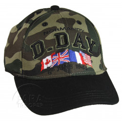 Cap, Baseball, Kids, D-Day Normandy, Camouflaged