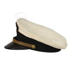Cap, Officier, USN, White