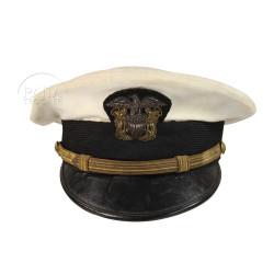 Casquette, Officier, USN, blanche