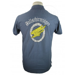 Polo bleu gris, Fallschirmjäger