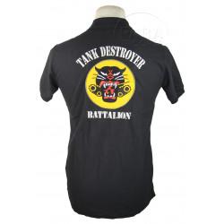 Polo shirt, Black, Tank Destroyer