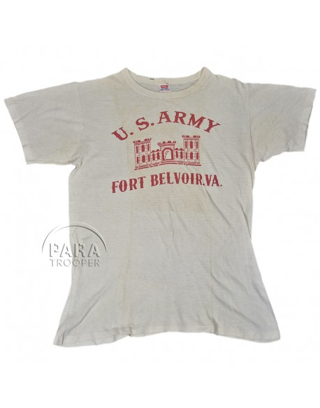 T-shirt US Army, Fort Belvoir