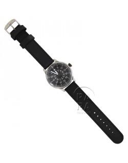 Montre chronographe, noir, de pilote B-Uhr