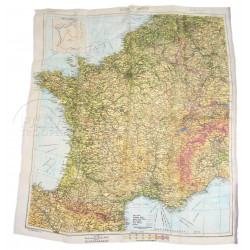 """Carte """"Zones of France"""", luxe"""