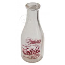 Bottle, Milk, US War Bonds, Winflied