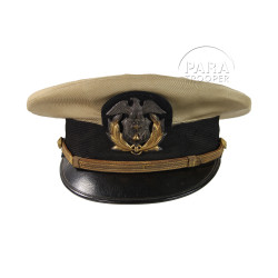 Casquette officier US, Marine marchande, Nudel, Boston, nominative