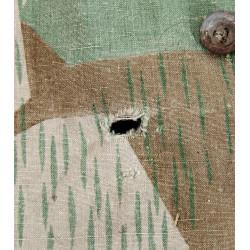 Zeltbahn, camouflaged Poncho, Splinter