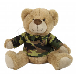 Teddy bear, Camouflaged T-shirt