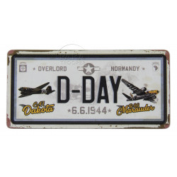 Magnet, D-DAY 6.6.1944, Licence plate