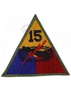 Insigne de la 15e division blindée US