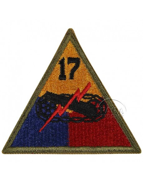 Insigne 17e division blindée US