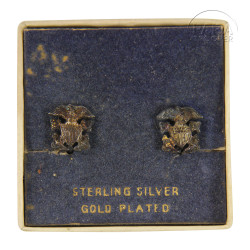 Boucles d'oreilles US Navy, Sterling