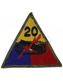 Patch, 20th Armored Division