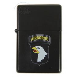Briquet type ZIPPO, 101e Airborne Div., noir