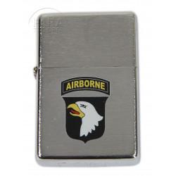 Briquet type ZIPPO, 101e Airborne Div., brillant