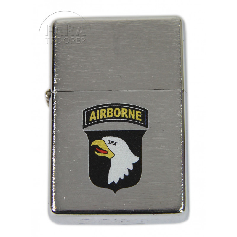 Lighter, type ZIPPO, 101st Airborne Div., bright