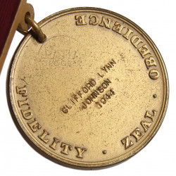Médaille Good Conduct, US Navy, Nominative