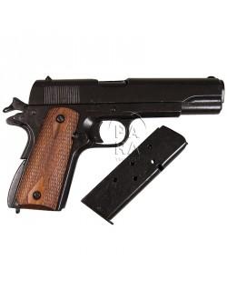 Colt M1911 A1, métal, plaquettes bois
