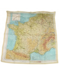 """Carte """"Zones of France"""", 1944"""