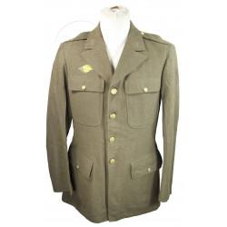 Coat, Wool, Serge, OD, 40L, 1942
