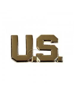 Insigne de col officier US