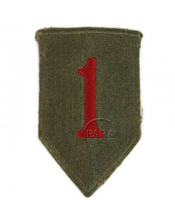 Patch, 1st Infantry Division, 1943